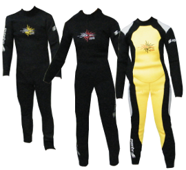 Image of Aquata 5 mm overall wetsuit