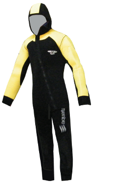 Image of Aquata 6,5 mm Long John with Jacket and hood
